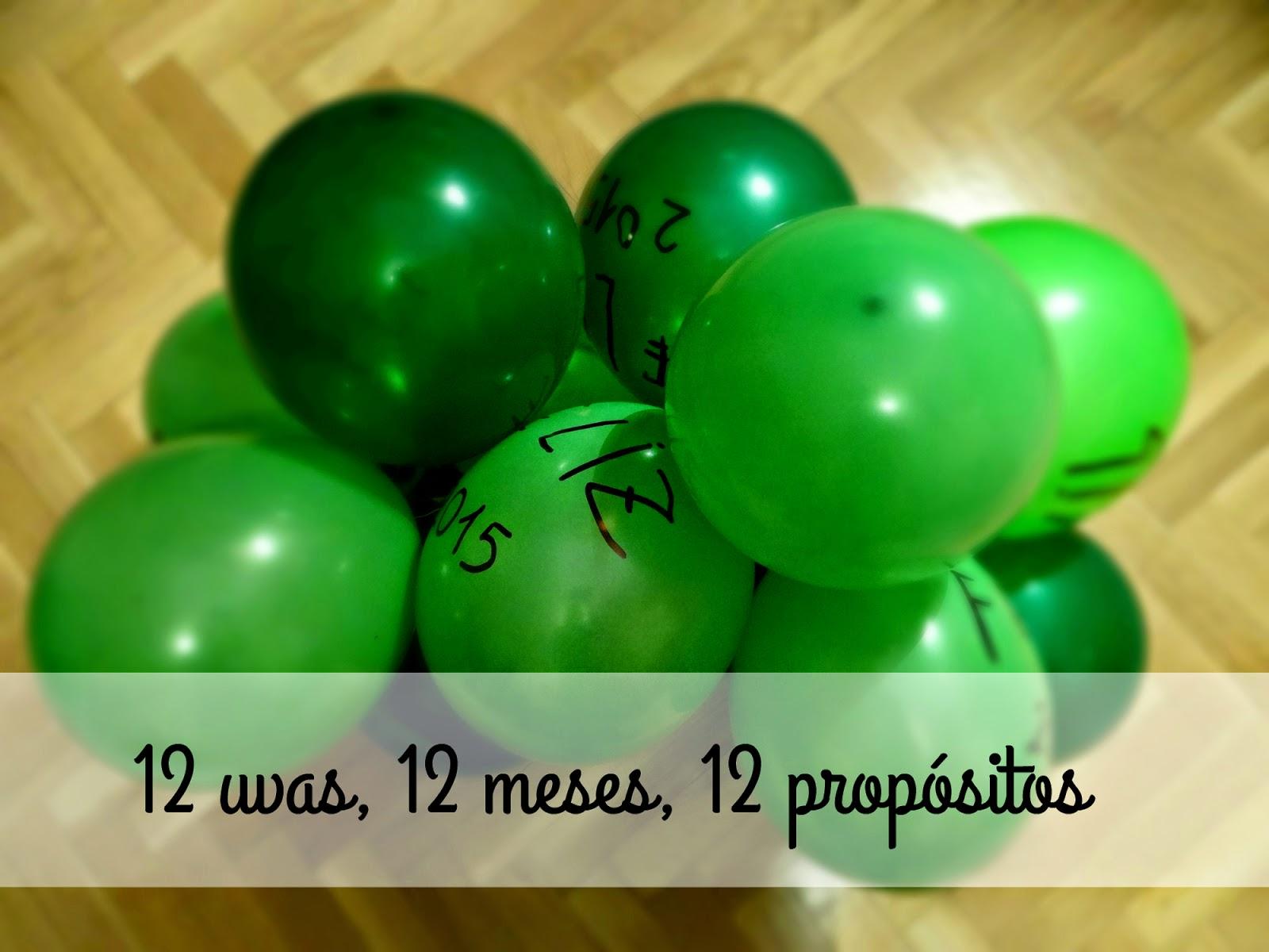 12 uvas, 12 meses, 12 propósitos