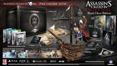 Details Revealed On Assassin's Creed IV: Black Flag Collector's Editions