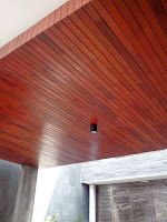 Plapon kayu lambersiring