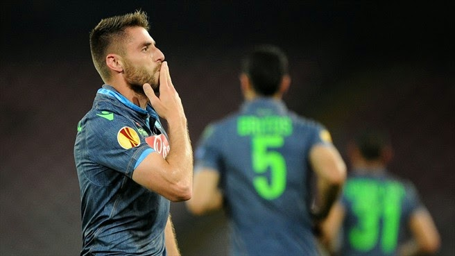 Europa League: Napoli-Dnipro 1-1, con lo zampino dell'arbitro VIDEO GOL
