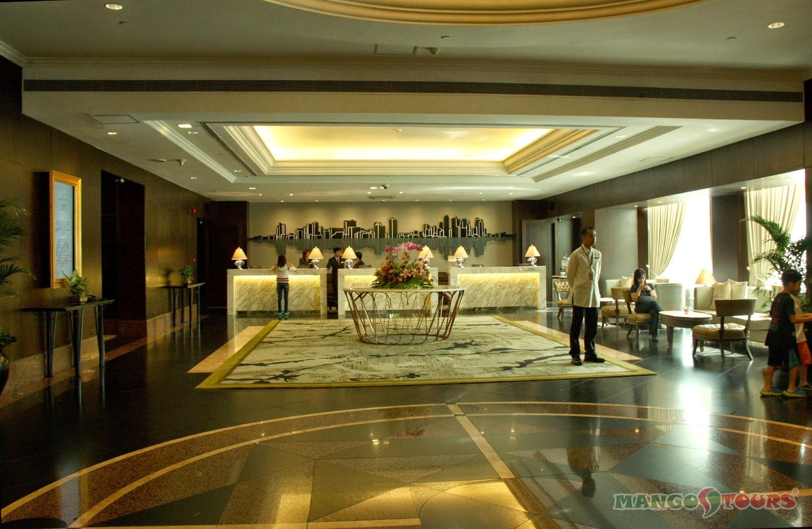 Mango Tours Diamond Hotel Philippines Lobby