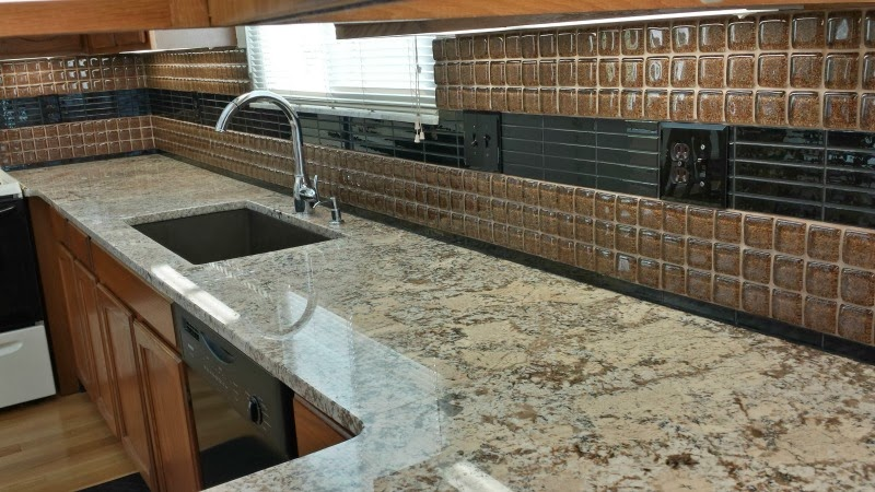 Arnev Products has the perfect solution for what to use with your glass backsplash tiles.