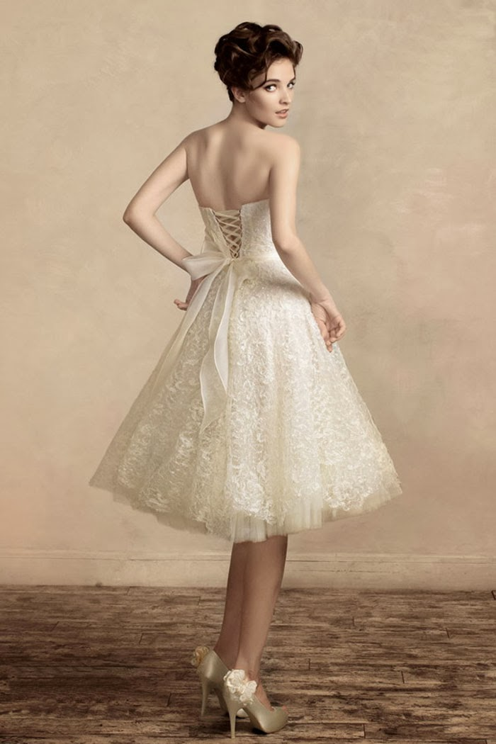 Short Country Wedding Dress