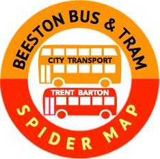 Bus & Tram Spider Map