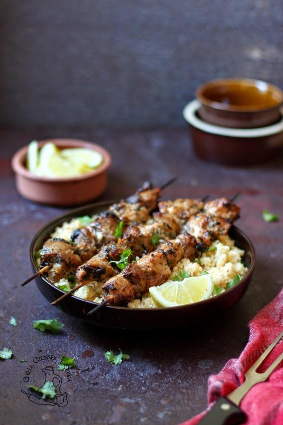 marokanskie kebaby z grilla