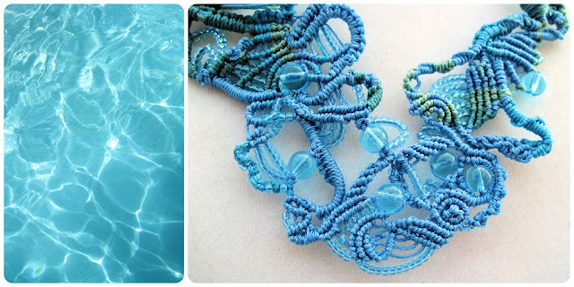 Summer Elements Blog Hop by Sherri Stokey of Knot Just Macrame