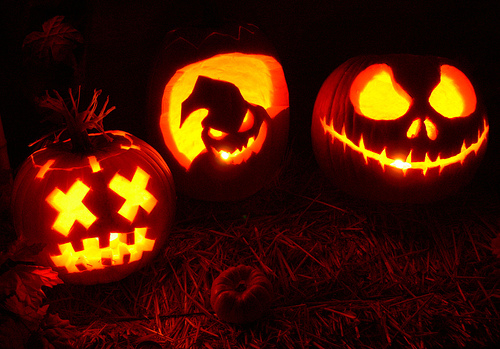 no one knows for sure how the carving jack o lanterns at halloween came about however it is thought to have originally come from here in the uk but did