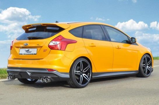 wolf racing ford focus ST 370 hp