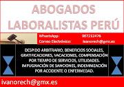 COMUNÍQUESE CON ABOGADOS LABORALISTAS 967212476