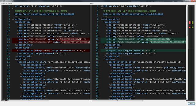 Azure web apps publish code compare