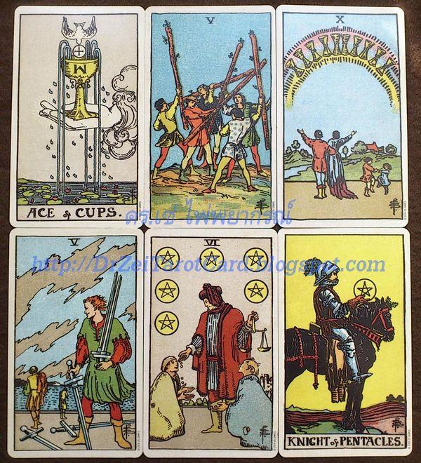 ไพ่ทาโรต์ชุดเล็ก Minor Cards Tarot Arcana Smith-Waite Tarot US Games ไพ่ยิปซี Ace Cups Five of Wands Ten Six of Coins หกเหรียญ ห้าไม้เท้า คฑา หนึ่งถ้วย อัศวินเหรียญ Knight of Pentacles