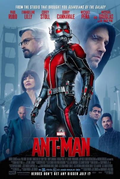Poster Of Ant-Man 2015 720p BRRip Dual Audio