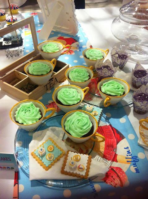 Cupcakes en taza