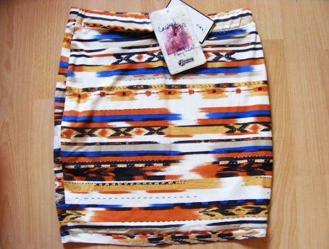 Finally i have you- aztec skirt!