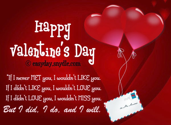 Happy Valentines Day 2016 Valentines Day Romantic love letter