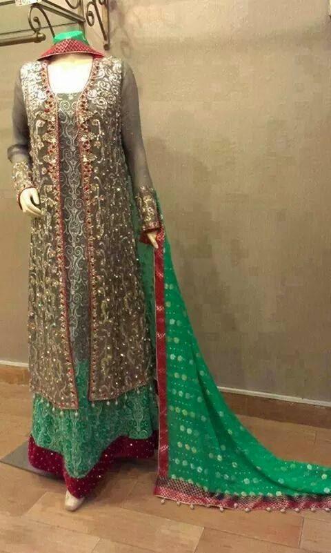 Bridal Fancy Pakistani Dress