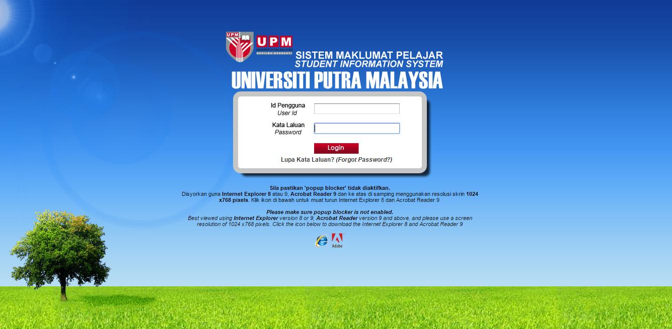 result simulasi UPM