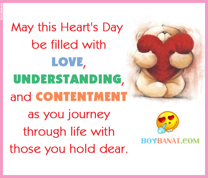 Happy Hearts Day Love Quotes and Sayings