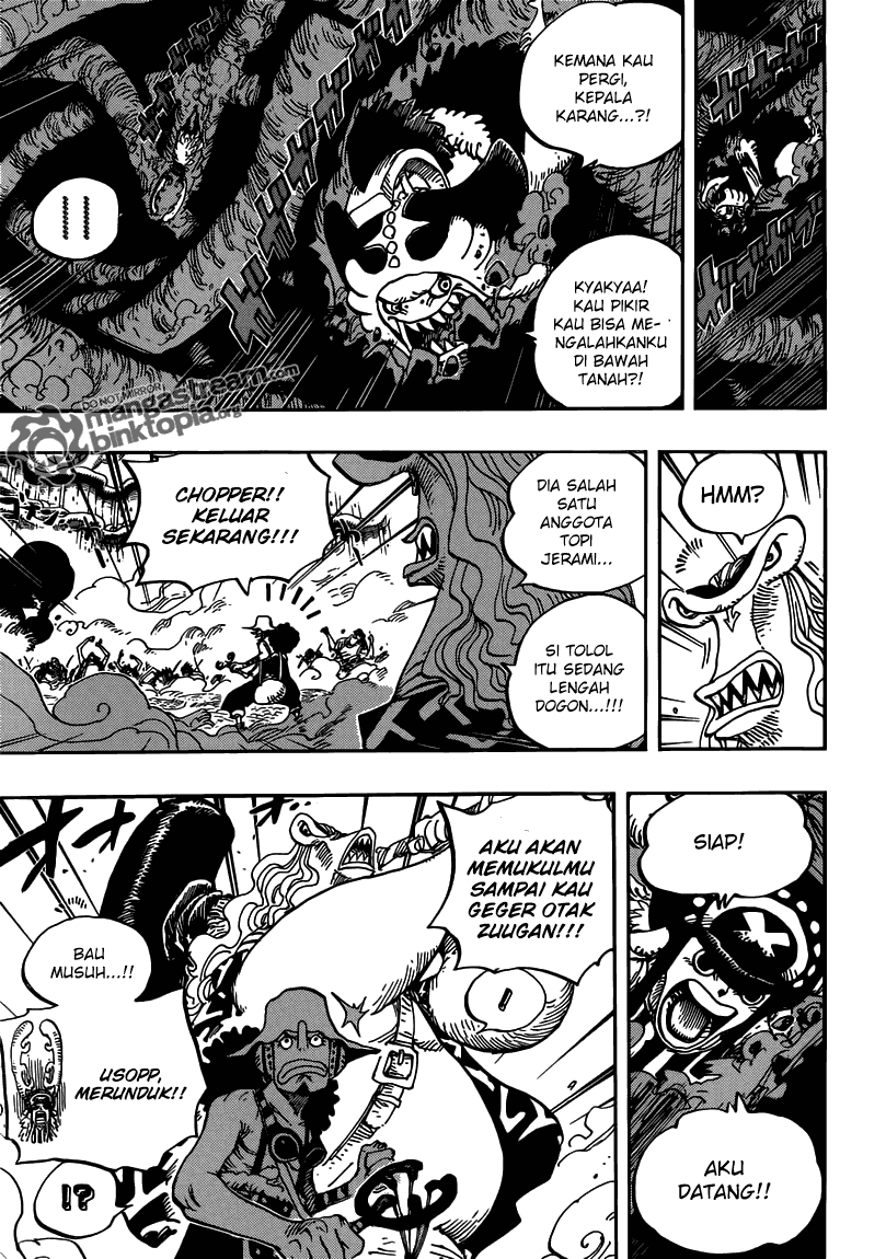 one piece Online 642 manga page 10