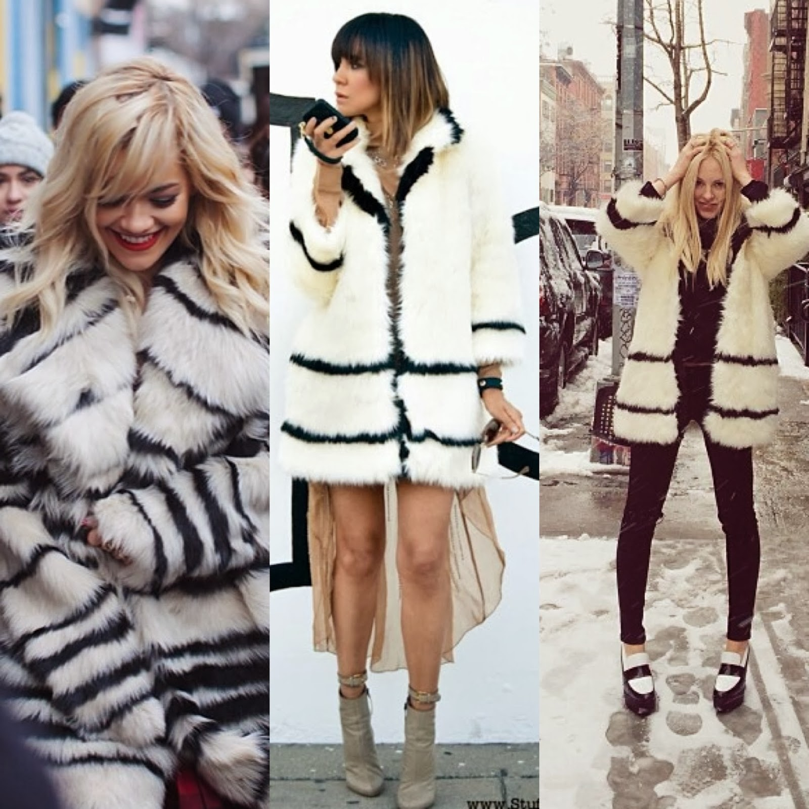 Faux fur, Fur at Fashion Week, NYFW,  Street Style, New York Fashion Week Street Style, Fur, Rita Ora, Shea Marie, Peace Love Shea, Fashion Bloggers, Black FAshion Blogger, Taye Hansberry, Stuff She Likes, Fahion Blog,