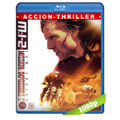 Mision Imposible 2 (2000) BRRip Full 1080p Audio Trial Latino-Castellano-Ingles 5.1