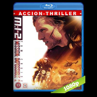 Mision Imposible 2 (2000) BRRip Full 1080p Audio Trial Latino-Castellano-Ingles 5.1
