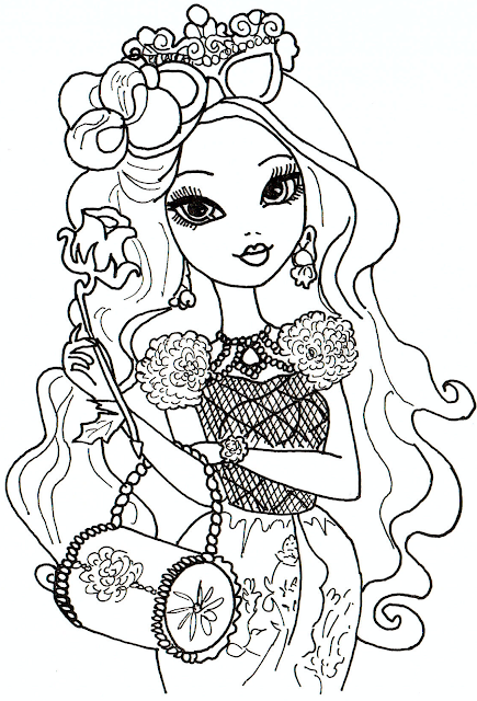 All About Ever After High Dolls June 2013 High Characters Coloring Pages