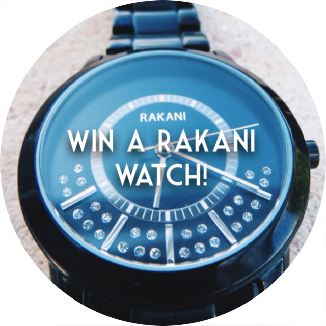 rakani watches, freebie friday, giveaway, sweepstakes, freebie, free, win it, contest