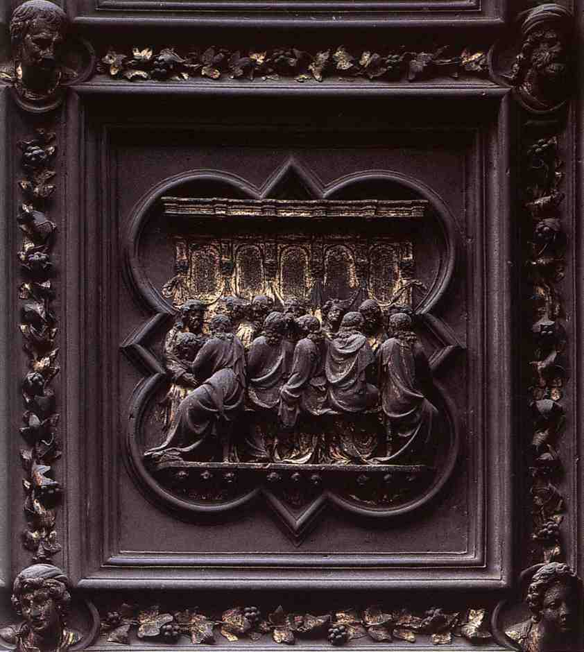 Lorenzo Ghiberti won the contest and began work on the doors which lasted for the over twenty years. & Brunelleschi Ghiberti and the Beginnings of the Renaissance | Art ... Pezcame.Com