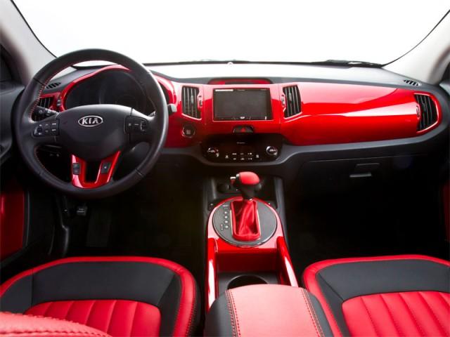 Kia Sportage Wonder Woman 2014 interior