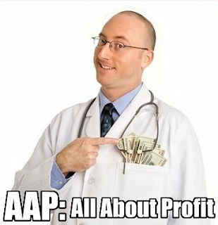 Joseph4GI points out that the AAP seems to be drive by money and profit by doing infant circumcisions