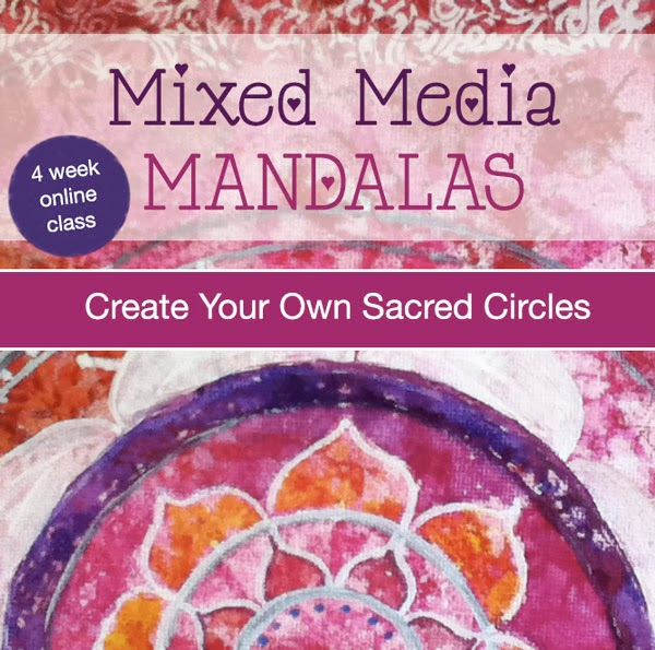 Mixed Media Mandalas