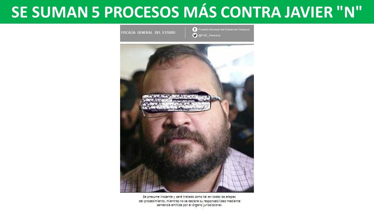"""5 PROCESOS MÁS CONTRA JAVIER """"N"""""""