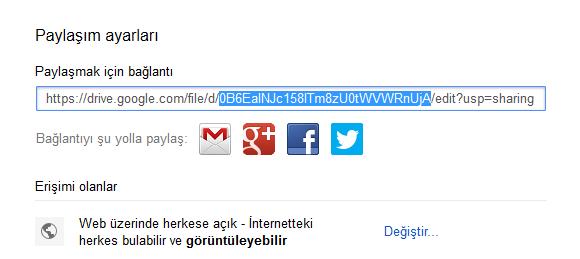 Google Drive'ı Blogger Hostinginiz olarak kullanın