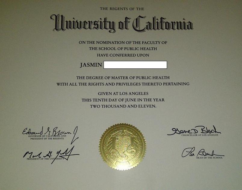 Diploma: Ucla D...