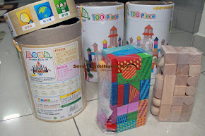 100 pcs Wooden Blocks