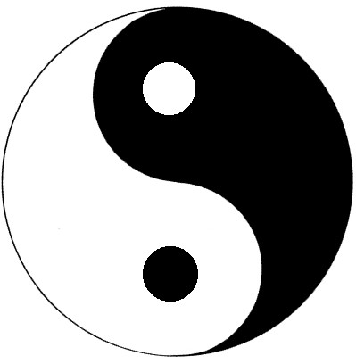 English language and literature ju binary opposition in for Lit yin yang