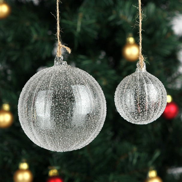 glass christmas tree ornaments - Glass Christmas Bulbs For Decorating