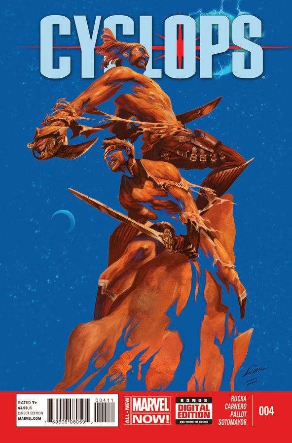 Alexander Lozano Cyclops Cover