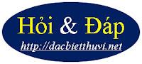 Hỏi Đáp: dacbietthuvi.net xin phúc đáp