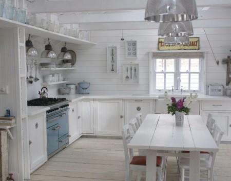 Cocinas con estilo Shabby Chic - Kansei Cocinas | Servicio ...