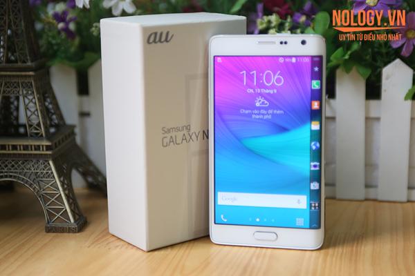 SamSung Galaxy Note Edge Docomo: những điều cần phải biết