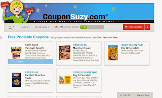 Coupon Suzy Daily Online Daily Coupons By Coupons Suzy