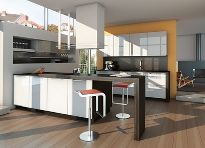 Vintage home cocinas con isla modernas - Cocinas isla modernas ...