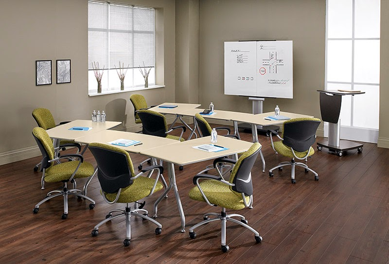 Go modular with your office training room for Training room design ideas