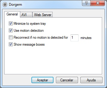 Dorgem motion detection