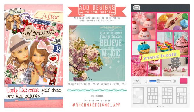 19 apps m s para decorar las fotos personalizaci n de - App decorar fotos ...