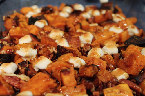 Deconstructed Sweet Potato Casserole