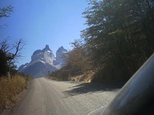 camino a Torres del Paine