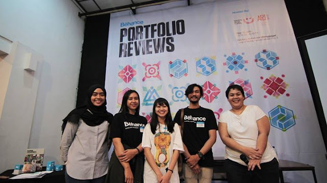 Behance Portfolio Review Week 7 Bandung